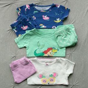 Toddler Girls Pajamas (3T)